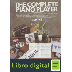 The Complete Piano Player Book 1 Kenneth Baker