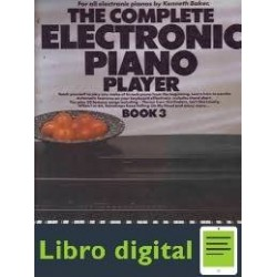 Complete Electronic Piano Player Book 3 Partituras