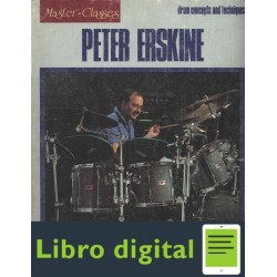 Peter Erskine Drum Concepts And Techniques Partitura