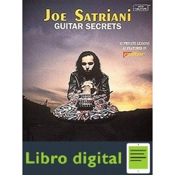 Joe Satriani Guitar Secrets Tablatura Partitura