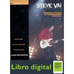 Steve Vai Guitar Styles Y Techniques Jeff Perrin
