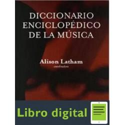 Diccionario Enciclopedico Oxford De La Musica