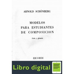 Arnold Schoenberg Modelos Estudiantes Composicion