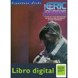 Eric Johnson Signature Licks Tablatura Partitura