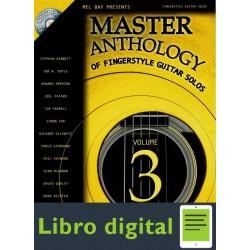 Master Anthology Of Fingerstyle Guitar Solos Vol 3