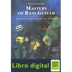 Christof Stowasser Masters Of Bass Guitar Tablatura