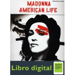 Madonna American Life Tablatura Partitura
