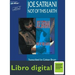 Joe Satriani Not Of This Earth Tablatura