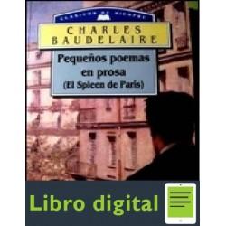 Poemas En Prosa Charles Baudelaire