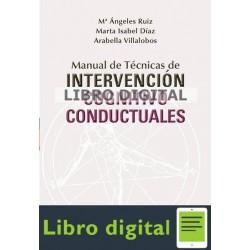 Ruiz Fernandez Intervencion Cognitiva Conductuales