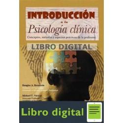 Introduccion A La Psicologia Clinica Douglas Bernstein