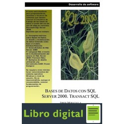 Bases De Datos Con Sql Server 2000 Transact Sql