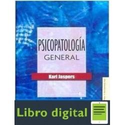 Psicopatologia General Jaspers