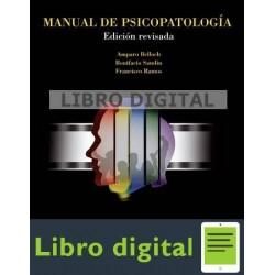 Belloch Libro De Psicopatologia Volumen Ii