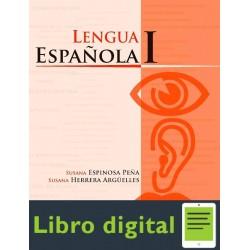 Lengua Española I, Ii Y Iii
