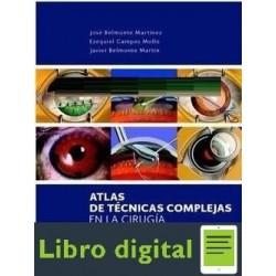 Atlas De Tecnicas Coplejas En La Cirugia De Seg Ant