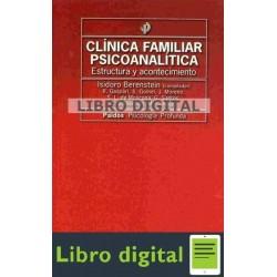 Berenstein Isidoro Clinica Familiar Psicoanalitica