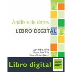 Botella Ausina Juan Analisis De Datos En Psicologia I