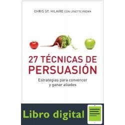 27 Tecnicas De Persuasion Hilaire
