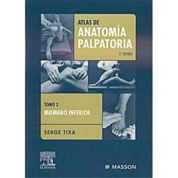 Atlas De Anatomia Palpatoria Tomo 2 Serge Tixtla