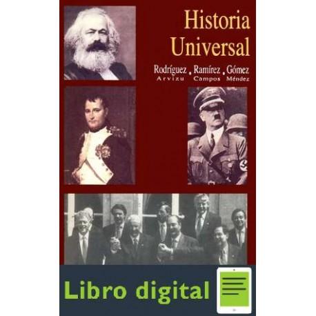 Historia universal José Rodríguez Arvizu