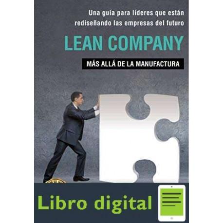 Lean Company Mas alla de la manufactura Luis Socconini