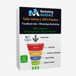 Sistema FaceBook Ads + WhatsApp Marketing