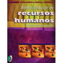 Administracion De Recursos Humanos Bohlander 12 edicion