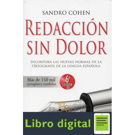 Redacción sin dolor Sandro Cohen
