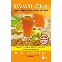 Kombucha Los secretos de esta bebida fermentada probiótica Neil Stevens