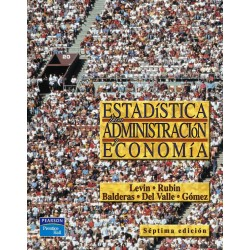 Estadistica Para Administracion Y Economia Richard Levin 7 edicion