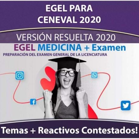 Egel Ceneval Oro Medicina 2020 Guias de Estudio